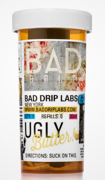 Ugly Butter Salt E-Juice 30ml by Bad Drip Labs E-Liquids | Bad Drip Labs Ugly Butter Salt 30ml E-Liquid | Ugly Butter Salt 30ml | Cheap E-Juices | Cheap e-Liquid Deals | Cheap Bad Drip Labs E-Juice Deals | Wholesale to the Public | Cheapest Vape Store Online | Vape | Vapor | Ecig | EJuice | Eliquid | Bad Drip Labs E-Liquids | Bad Drip Labs USA | Bad Drip Labs E-Liquids | ECIGMAFIA