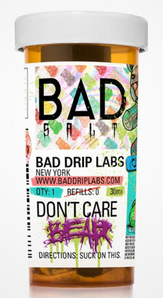 Don't Care Bear Salt eJuice by Bad Drip Labs E-Liquid 30ML