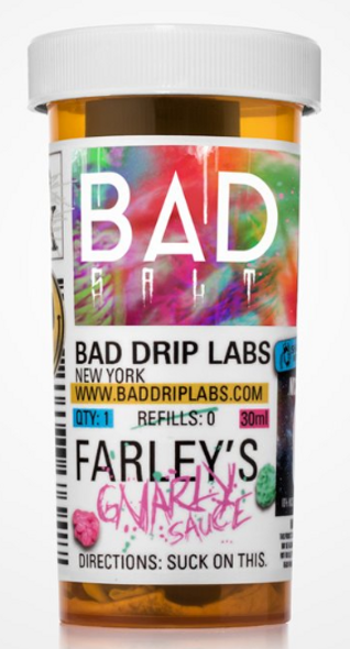 Farley's Gnarly Sauce Salt eJuice by Bad Drip Labs E-Liquid 30ML