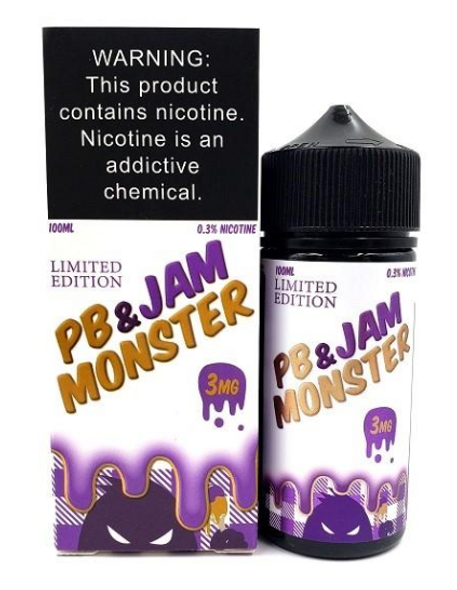 Grape eJuice by PB & Jam Monster E-Liquid 100ML