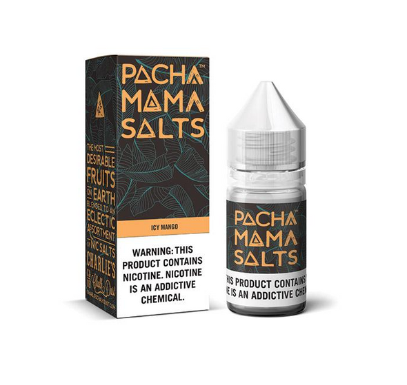 Icy Mango Salt eJuice by Pachamama E-Liquid 30ML