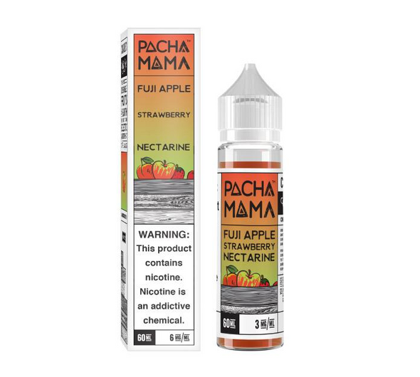Fuji Apple Strawberry Nectarine eJuice by Pachamama E-Liquid 60ML
