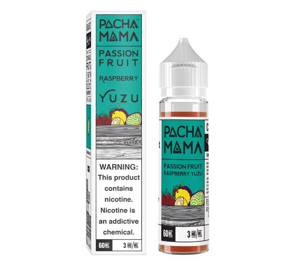 Passion Fruit Rasberry Yuzu eJuice by Pachamama E-Liquid 60ML
