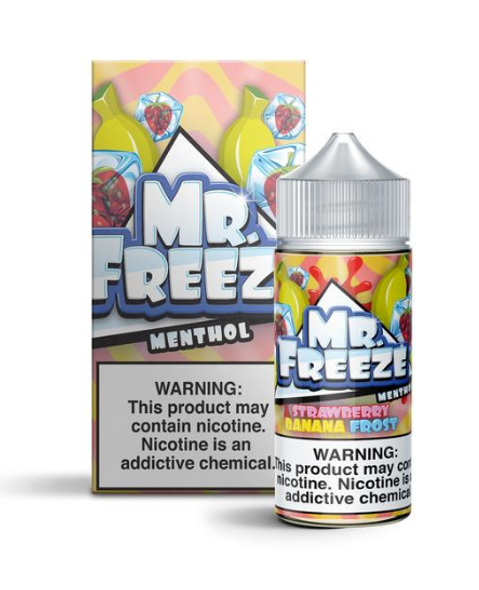 Strawberry Banana Frost eJuice by Mr.Freeze E-Liquid 100ML