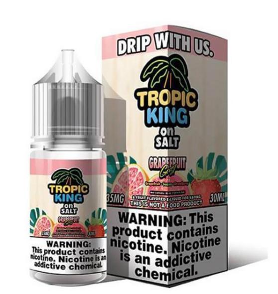 Grapefruit Gust E-Juice 30ml by Tropic King on Salt E-Liquids | Tropic King on Salt E-Liquid Grapefruit Gust 30ml | Grapefruit Gust  30ml | Cheap E-Juices | Cheap Deals | Cheap Tropic King on Salt E-Liquid E-Juice Deals | Wholesale to the Public | Cheapest Vape Store Online | Vape | Vapor | Ecig | EJuice | Eliquid | Tropic King on Salt E-Liquids | Tropic King on Salt E-Liquid USA | Tropic King on Salt E-Liquids | ECIGMAFIA
