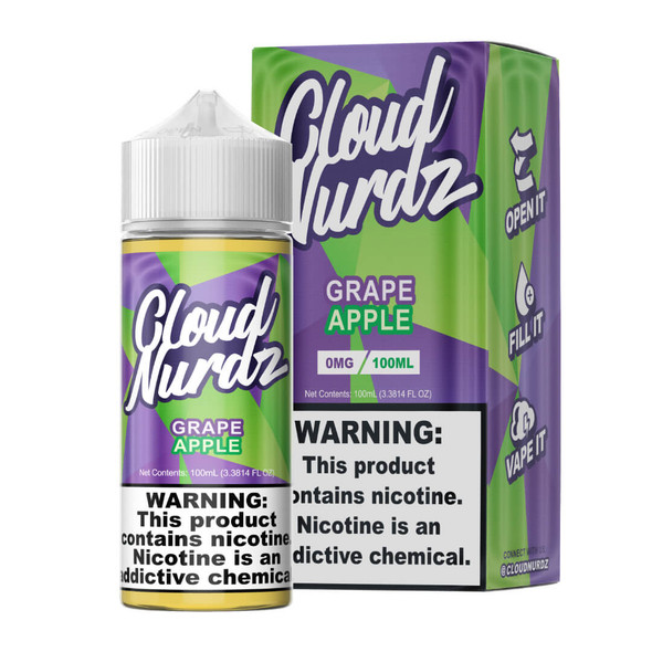 Cloud Nurdz Grape Apple 100ml E-Juice