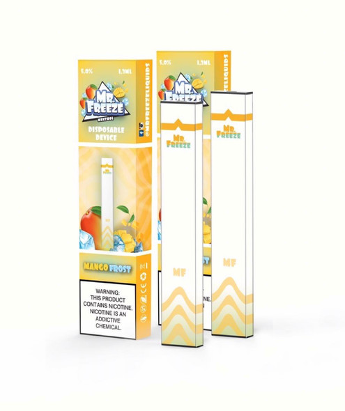 Mr.Freeze Mango Frost Disposable Pod Device