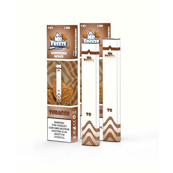 Mr.Freeze Tobacco Disposable Pod
