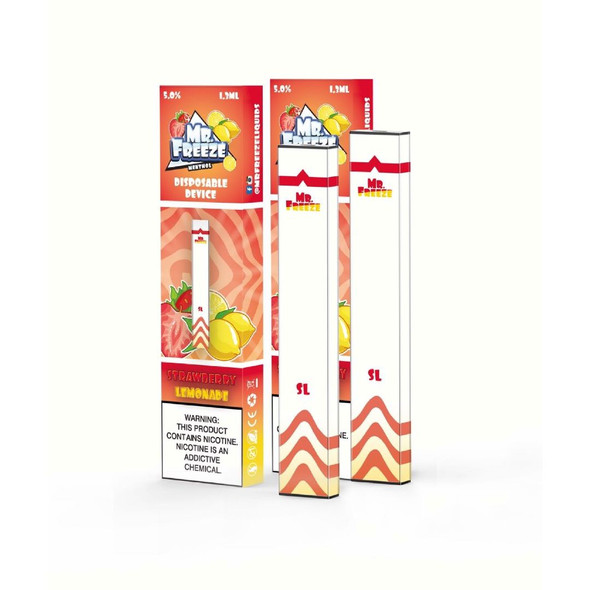Mr.Freeze Strawberry Lemonade Disposable Pod