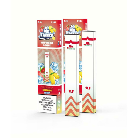 Mr.Freeze Strawberry Lemonade Frost Disposable Pod