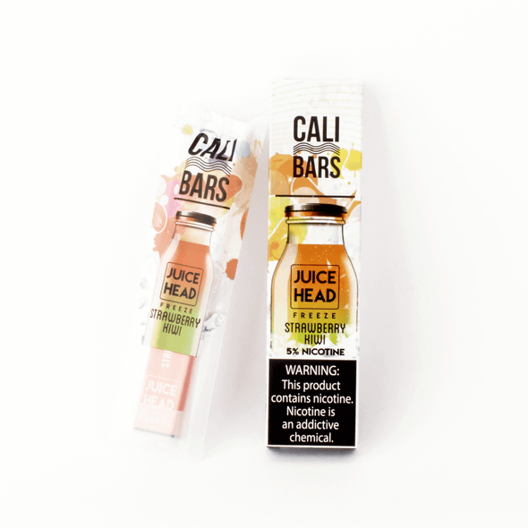Juice Head Freeze Cali Bars Strawberry Kiwi Disposable Pod