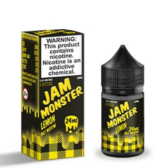 Lemon Salt 30ml eJuice by Jam Monster