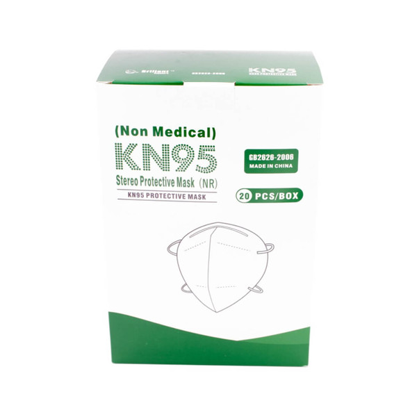 Disposable Face Mask Non-Medical KN95 - 20 Pieces