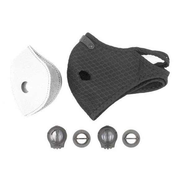 Cloth Sport Valved Carbon Mask (Pack of 1)