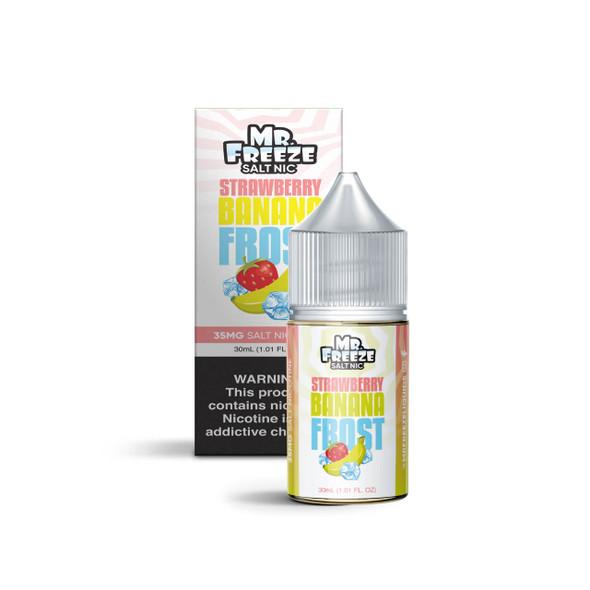 Mr.Freeze Strawberry Banana Frost Salt 30ml E-Juice