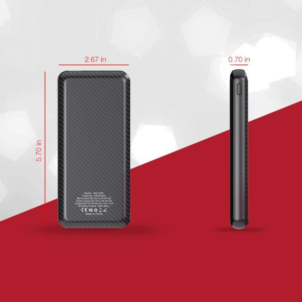 Pivoi 10000mAh Qi Wireless Portable Charger