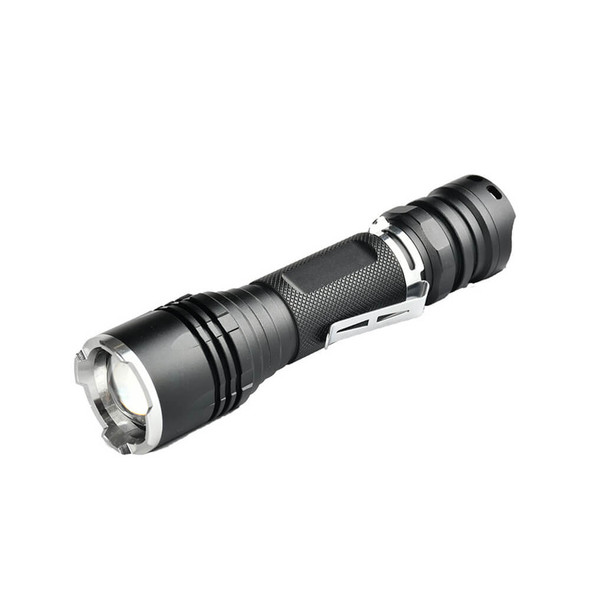 Pivoi 15W LED Tactical Flashlight, IP44 Water Resistant, Zoom focus, Metal body, 1000 Lumens