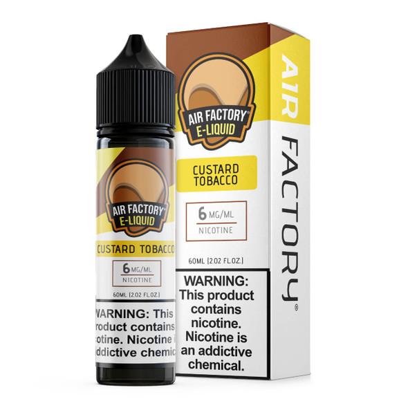 Air Factory Custard Tobacco 60ml E-Juice
