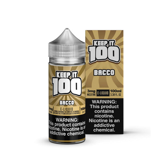 Bacco 100ml by Keep it 100 E-Liquid