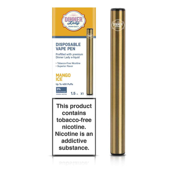 Dinner Lady Mango Ice Disposable Vape Pen