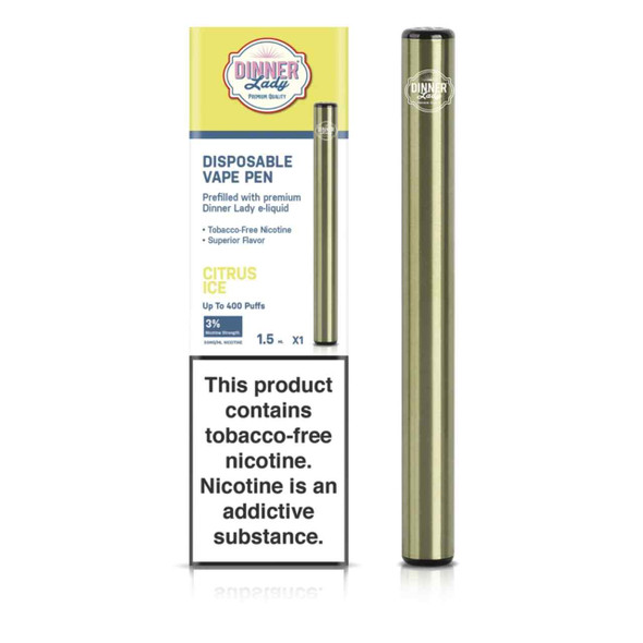 Dinner Lady Citrus Ice Disposable Vape Pen