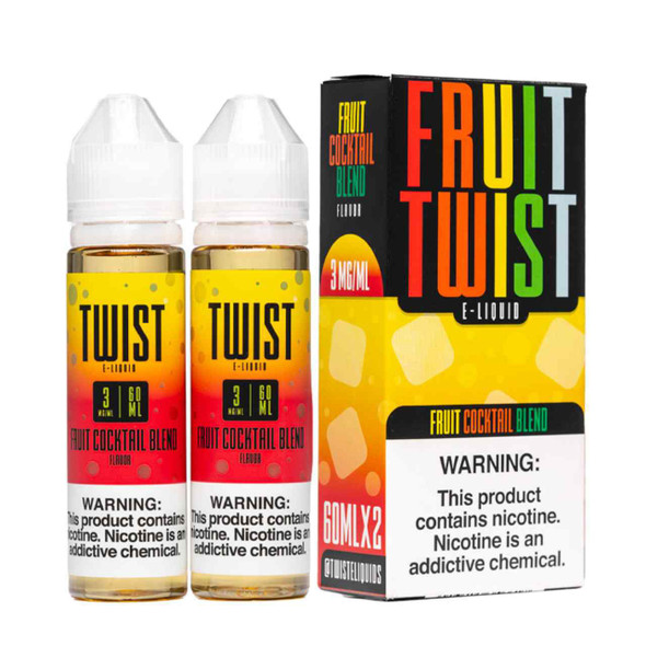 Twist E-Liquids Fruit Cocktail Blend 120ml E-Juice