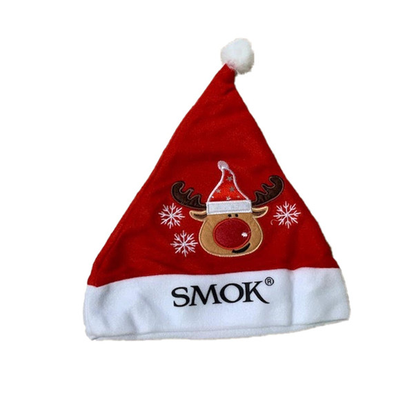 Smok Christmas Hat Red Christmas Hat With Reindeer