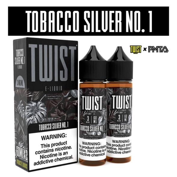 Twist E-Liquids Tobacco Silver No.1 120ml E-Juice