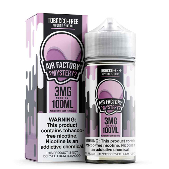 Air Factory Mystery Tobacco Free Nicotine 100ml E-Juice