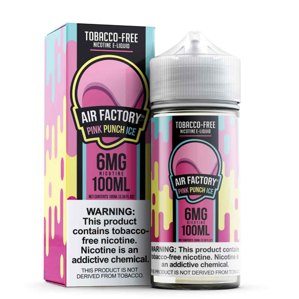 Air Factory Pink Punch Ice Tobacco Free Nicotine 100ml E-Juice