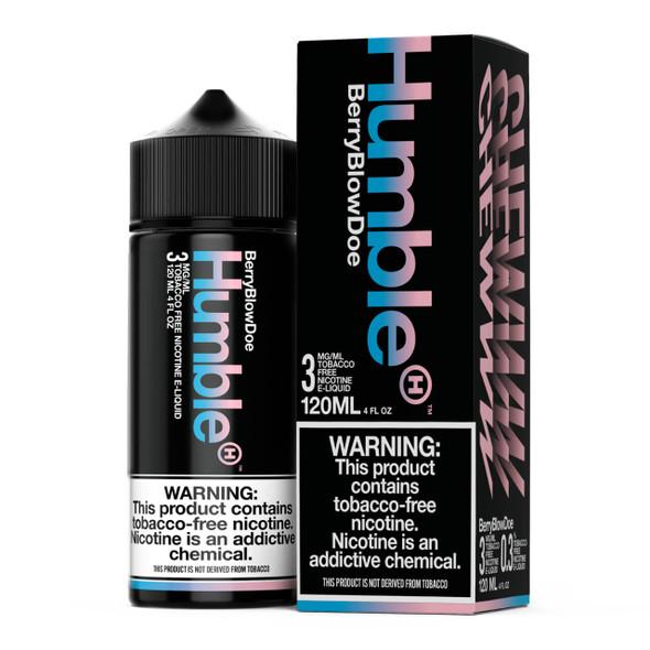 Humble Berry Blow Doe 120ml Tobacco Free Nicotine E-Juice