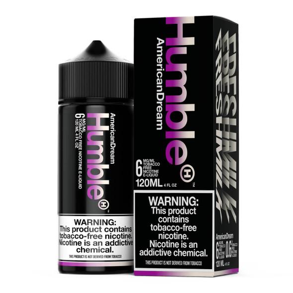 Humble American Dream 120ml Tobacco Free Nicotine E-Juice