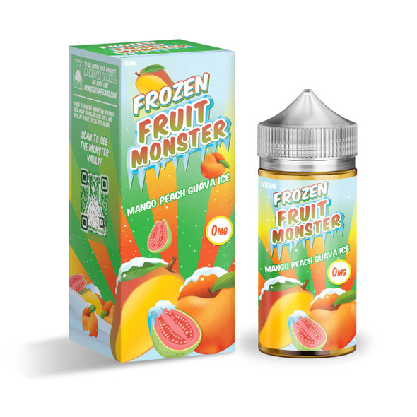 Frozen Fruit Monster Mango Peach Guava Ice 100ml E-Juice