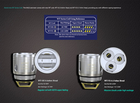 Wismec Kage WT Replacement Coil (Pack of 5)