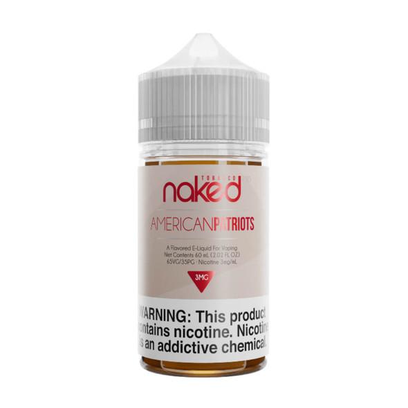 American Patriot E-Juice 60ml by Naked 100 E-Liquids | Naked 100 E-Liquid American Patriot 60ml | American Patriot 60ml | Cheap E-Juices | Cheap Deals | Cheap Naked 100 E-Liquid E-Juice Deals | Wholesale to the Public | Cheapest Vape Store Online | Vape | Vapor | Ecig | EJuice | Eliquid | Naked 100 E-Liquids | Naked 100 E-Liquid USA | Naked 100 E-Liquid s | ECIGMAFIA