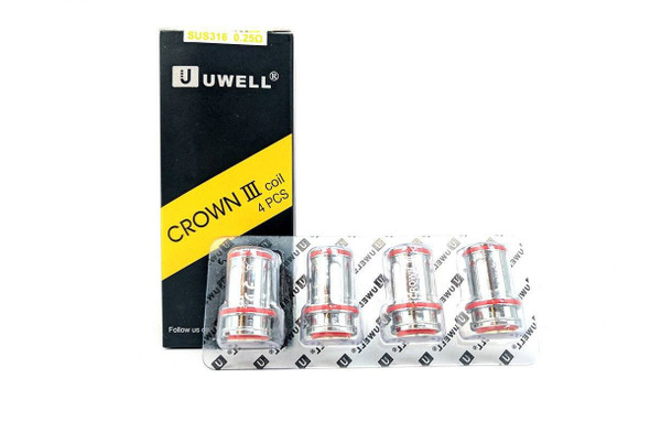 Uwell Crown 3 III Coils - 4 Pack