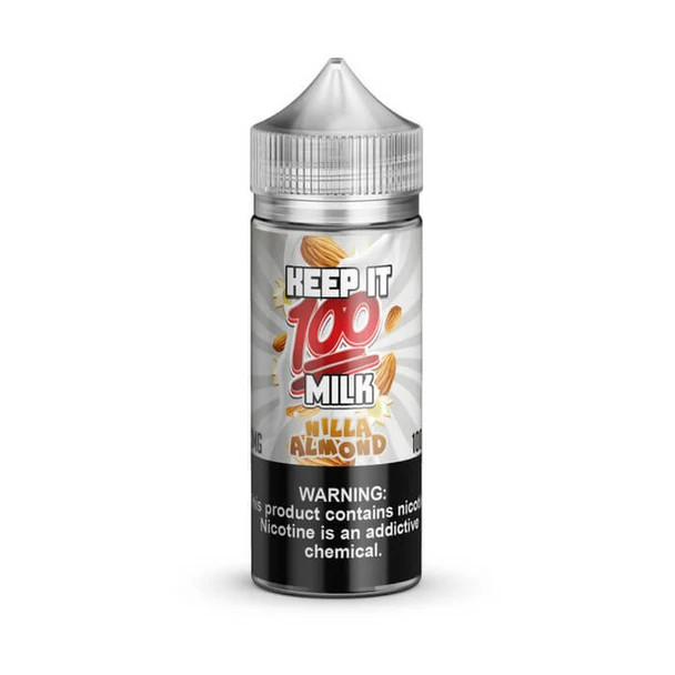 Nilla Almond E-Liquid 100ml by Keep it 100 eJuice