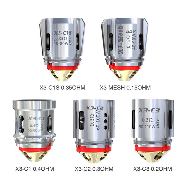 iJoy Captain X3 Replacement Coils 3 Pack - $8.99 Vape Wholesale to the Public WWW.ECIGMAFIA.COM Cheapest Vape Store - Vapor + Vape + E-Liquid + E-Cig + eJuice Wholesale to the Public - Lowest E-Cig Prices + Deals