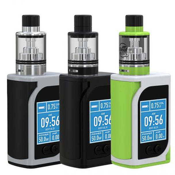 iStick Kiya Kit by Eleaf by Eleaf iStick Kiya 50w TC Kit Comes With GS Juni Tank by Cheap Box Mod Vape Kits by Cheap Eleaf Vape Deals by Wholesale to the Public by Cheapest Vape Store Online by Vape by Vapor by Ecig by Ejuice by Eliquid by Eleaf Vape by Eleaf USA by ECIGMAFIA