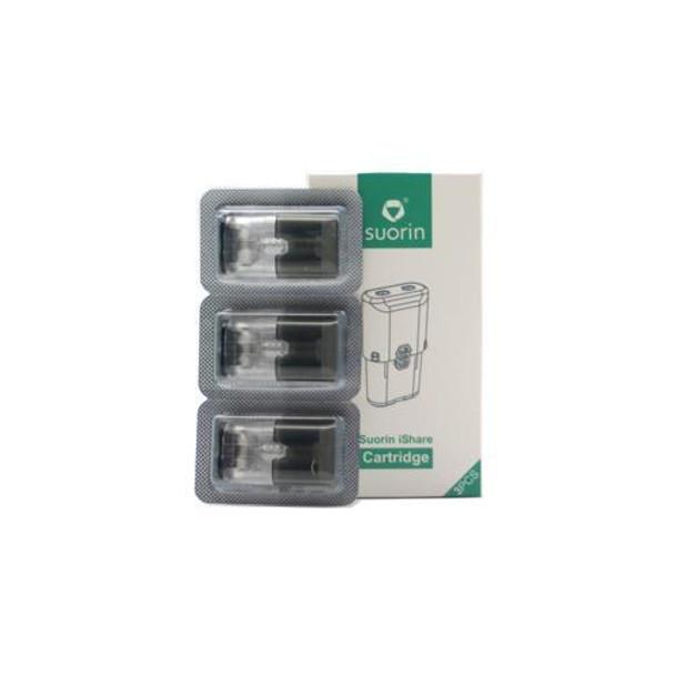 Suorin iShare AiO Pod Cartridges - 3 Pack