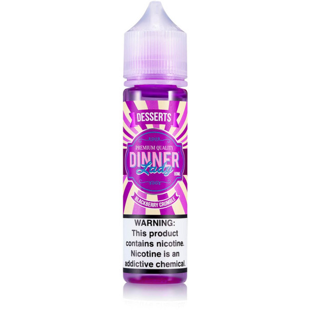 Blackberry Crumble E-Liquid 60ml by Dinner Lady eJuice
