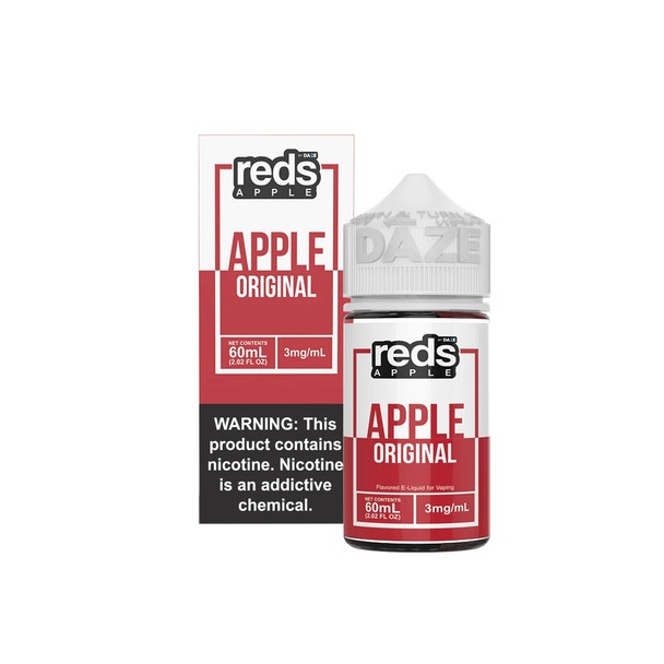 Red's Apple eJuice 60mL by Red's Apple + 7Daze E-Liquids by Red's Apple 60mL E-Liquid by Red's Apple 60mL by Cheap eJuices by Cheap e-Liquid Deals by Cheap Red's Apple eJuice Deals by Wholesale to the Public by Cheapest Vape Store Online by Vape by Vapor by Ecig by Ejuice by Eliquid by Red's Apple E-Liquids by Red's Apple USA by Red's Apple by ECIGMAFIA