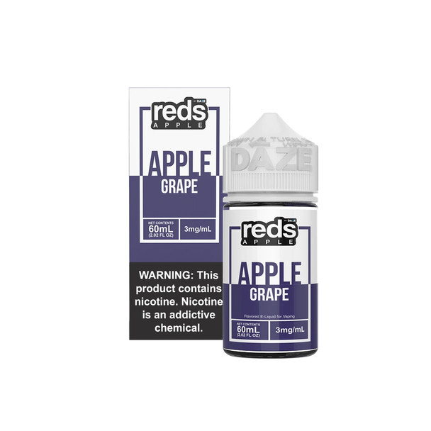 Grape Red's Apple Iced eJuice 60mL by Red's Apple + 7Daze E-Liquids by Grape Red's Apple Iced 60mL E-Liquid by Grape Red's Apple Iced 60mL by Cheap eJuices by Cheap e-Liquid Deals by Cheap Red's Apple eJuice Deals by Wholesale to the Public by Cheapest Vape Store Online by Vape by Vapor by Ecig by Ejuice by Eliquid by Red's Apple E-Liquids by Red's Apple USA by Red's Apple by ECIGMAFIA