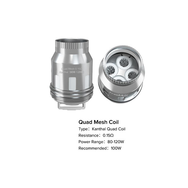 Mesh Pro Replacement Coils by FreeMax by FreeMax Mesh Pro Coils by Single Double Triple Quad by Sub Ohm Vape Coils by Cheap FreeMax Vape Deals by Wholesale to the Public by Cheapest Vape Store Online by Vape by Vapor by Ecig by Ejuice by Eliquid by FreeMax Vape by FreeMax USA by ECIGMAFIA