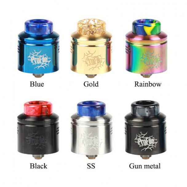 Profile 24mm RDA by Wotofo by Profile 24mm Mesh RDA Dripper Atomizer by RDA Vape Atomizers by Cheap Wotofo Vape Deals by Wholesale to the Public by Cheapest Vape Store Online by Vape by Vapor by Ecig by Ejuice by Eliquid by Wotofo Vape by Wotofo USA by ECIGMAFIA