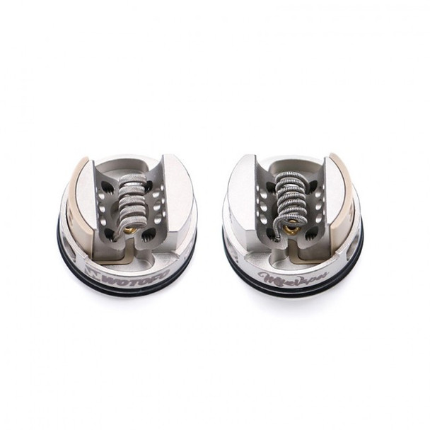 Recurve 24mm RDA by Wotofo X Mike Vapes by Recurve 24mm RDA Dripper Atomizer by Mike Vapes by RDA Vape Atomizers by Cheap Wotofo Vape Deals by Wholesale to the Public by Cheapest Vape Store Online by Vape by Vapor by Ecig by Ejuice by Eliquid by Wotofo Vape by Wotofo USA by ECIGMAFIA