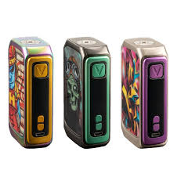 Graffiti 220W Box Mod by VZONE by VZONE GRAFFITI Box Mod by Sub Ohm Vape Box Mods by Cheap VZONE Vape Deals by Wholesale to the Public by Cheapest Vape Store Online by Vape by Vapor by Ecig by Ejuice by Eliquid by VZONE Vape by VZONE USA by ECIGMAFIA