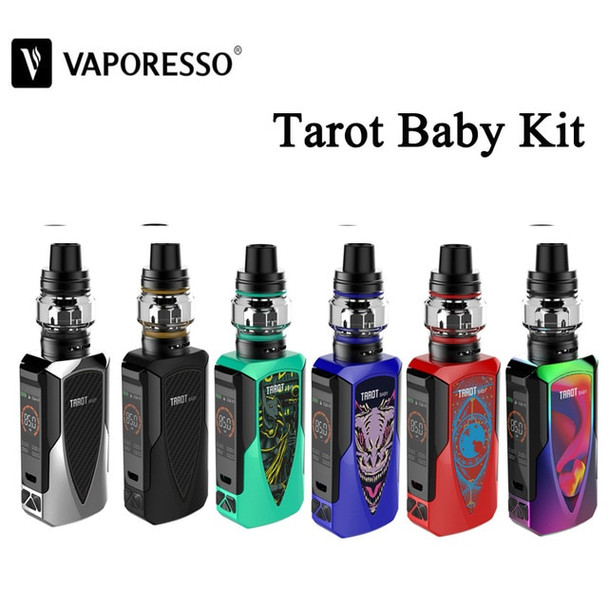 Tarot Baby Kit by Vaporesso by Vaporesso Tarot Baby 85w TC Kit Comes With NRG SE Sub-Ohm Tank by Cheap Box Mod Vape Kits by Cheap Vaporesso Vape Deals by Wholesale to the Public by Cheapest Vape Store Online by Vape by Vapor by Ecig by Ejuice by Eliquid by Vaporesso Vape by Vaporesso USA by ECIGMAFIA