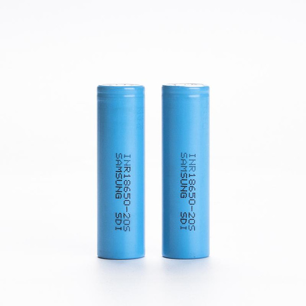 Samsung 20S 18650 2000mAh 30A INR Battery (Pack of 2)