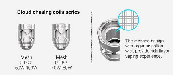 NABOO MESH COILS by SMOANT by SMOANT NABOO MESH 0.17Ohm + 0.18Ohm Replacement COILS by Cheap Vape Coils by Cheap SMOANT Vape Deals by Wholesale to the Public by Cheapest Vape Store Online by Vape by Vapor by Ecig by Ejuice by Eliquid by SMOANT Vape by SMOANT ECIG by SMOANT USA by ECIGMAFIA